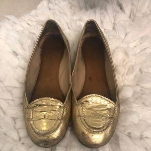 Gold Size 7 Flats